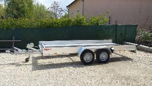 Autószállító trailer Annsems